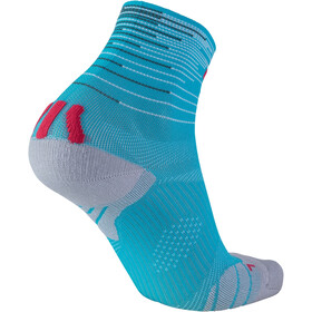 UYN Free Run Chaussettes Femme, turquoise/coral